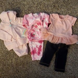 Just one you , Carter's and baby steps outfits